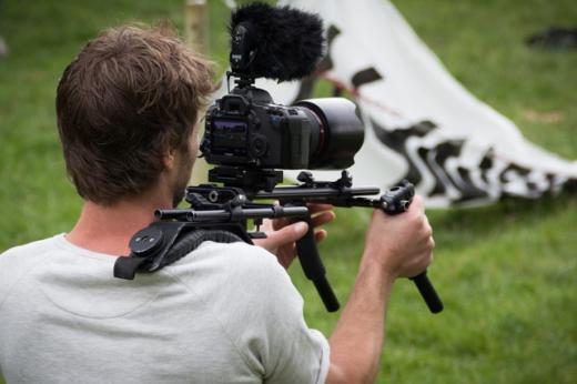 tournage d'un film